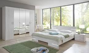 wimex schlafzimmer komplett spiegel bett 180x200cm 4 teilig weißeiche