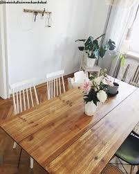 die weißen stühle im skandi design sind absolute trendsetter