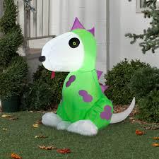 Walmart Halloween Blow Up Decorations by Gemmy Airblown Inflatable 3 5 U0027 X 2 5 U0027 Dinosaur Costume Dog
