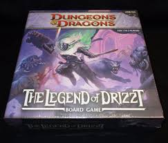 DD Dungeons Dragons Legend Of Drizzt Board Game Wizards The Coast
