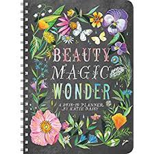 Katie Daisy 2018 2019 On The Go Weekly Planner 17 Month Calendar With Pocket