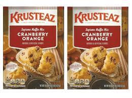 Bisquick Pumpkin Chocolate Chip Muffins by Amazon Com Krusteaz Pumpkin Spice Supreme Muffin Mix Single Box