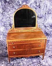 mirror original antique dressers vanities 1900 1950 ebay