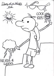 Coloring Pages To How Draw Diary Of A Wimpy Kid Kidjazza403 On Deviantart