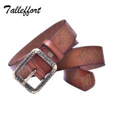summer style 100 genuine leather belts for women fashion vintage