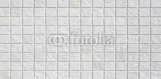 White Mosaic Tile Wall Seamless Background And Texture Beak Mural