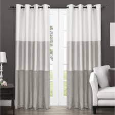 Tahari Home Curtain Panels by Curtain White And Greyins Grayin Panels Kitchen Redwhite Black