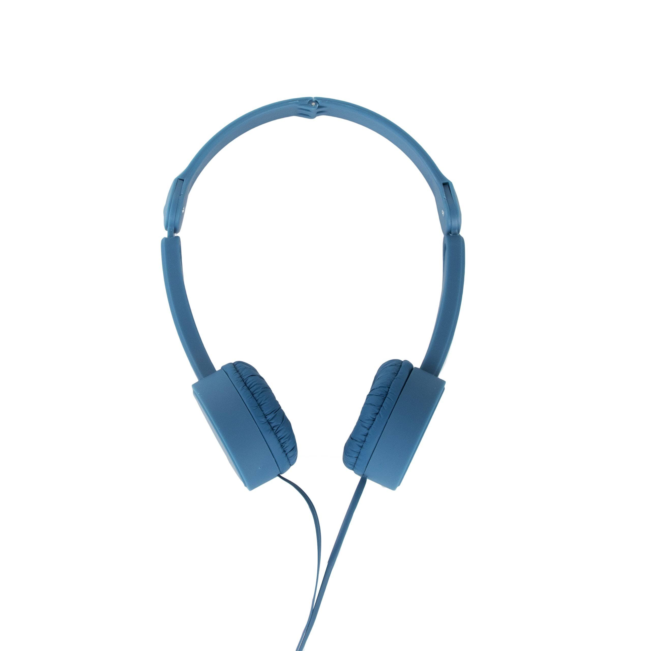 Pop Tone Mini Headphones, Blue
