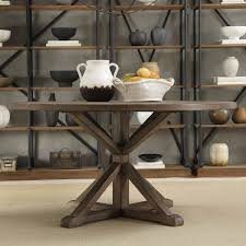 Rustic Dining Room Ideas Pinterest by Tribecca Home Benchwright Rustic X Base Round Pine Wood Dining