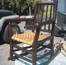 Old Rocking Chair Help | Antiques Board Innovative Rocking Chair Design With A Modular Seat Metal Frame Usa 1991 Objects Collection Of Cooper Hewitt Horse Plush Animal On Wooden Rockers With Belt Baby Glider Fresh Tar New Nursery Coaster Transitional In Black Finish Value Hand Painted Rocking Chairs Childs Rockers Hand Etsy Outdoor Wicker Legacy White Modern Marlon Eurway Gloucester Rocker Thos Moser Fniture Gliders Regarding Gliding Replica Eames Green Chrome Base Beech Valise Plowhearth