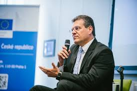 100 Sefcovic Citizens Dialogue In Prague With VicePresident Maro Efovi