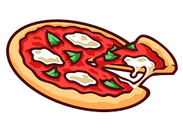 Turkey Eat Pizza Vector Library Download