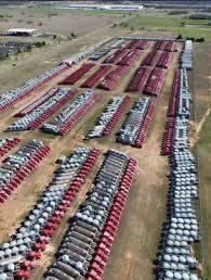 100 Halliburton Trucks Idle Equipment Duncan Oklahoma Gallery Roughneck
