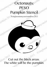 Mummy Pumpkin Carving Patterns Free by Single Mummy One In A Million Octonauts Peso Pumpkin Stencil