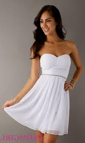 strapless white lace dress naf dresses