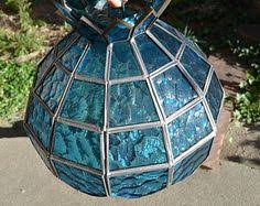 stained glass shade leaded stained glass handmade l shade