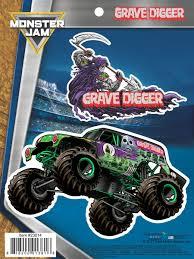 100 Monster Truck Grave Digger Videos Jam Decal Car Stickers