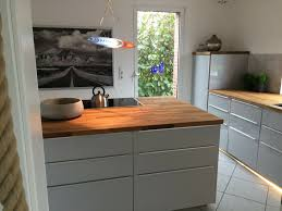 ikea skogarp eiche holz arbeitsplatte hällviken küche