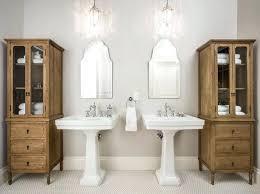 Pedestal Sink Organizer Ikea by Bathroom Pedestal Sink Storage Cabinet Small Bathroom Pedestal