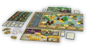 Terra Mystica Game Map