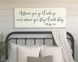 Bedroom Wall Decor You Will Forever Be My Always Wood