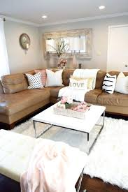 Grey Leather Sectional Living Room Ideas by Grey Leather Sectional Sofa Canada Living Room With Brown Couch