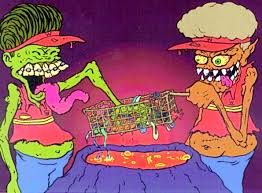Beavis And Butthead Halloween by Beavis And Butthead Art Created By Rob Zombie Zombie Pinterest