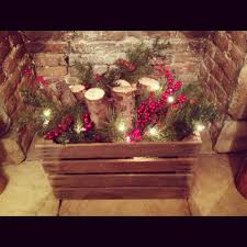 DIY Fireplace Insert I Cant Wait Til Christmas Am Going To Try