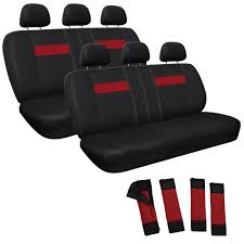 AUTO CAR TRUCK SUV Seat Cover Complete Set Red And Black Basic 2 Two ... Tampa Bay Raystampa Baysports Stripe Auto Seat Covers Suv Fia The Leader In Custom Fit Universal Truck For Ford F150 Purple Black Wsteering Whebelt Wide Fabric Selection Our Saddleman Arlington Front Rear Cover Kit Dickies Us 47 X 23 1 Car For Or Van Tractor Tailored Direct Amazoncom Baja Inca Saddle Blanket Pair Automotive Diamond Leather Masque Comfoseat We Offers You Cheap With A Good Quality Katzkin And Heaters Photo Image Gallery