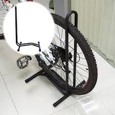 L Type Bicycle Rack Storage Bike Display Stand Wheel Parking Holder Single