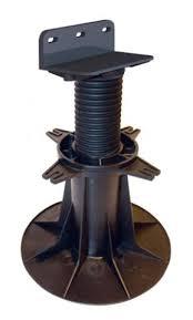plot reglable pour terrasse bois plot réglable de 160 à 230 mm pour terrasse bois bugal verindal