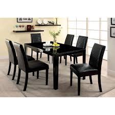 Levna Black Dining Table