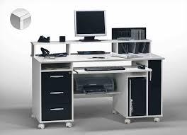 promo bureau et bureau blanc ordinateur noir pour imprimante informatique promo