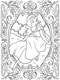 Coloring Pages Disney Princess Easy Sheets Frozen Large Size