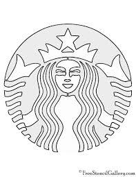 850x1100 Starbucks Logo Stencil Free Gallery