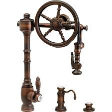 Diy Kitchen Faucet Diy Furniture Waterstone Wst 5100 3 Ab Wheel Antique Brass
