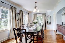 Alternate View Of Long Formal Dining Room With An Alcove For Your Sideboard Or Buffet