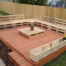 Beautiful Wooden Pallet Deck Ideas