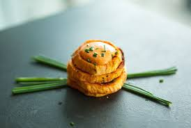 baked canapes potato with roasted pepper canapés healthy gluten