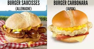 jeux de cuisine macdonald top 50 des menus mcdo insolites du monde entier tu verras pas ça