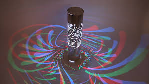 3D Laser Cut LED Bollard Lights Deliver Beautiful Patterns of