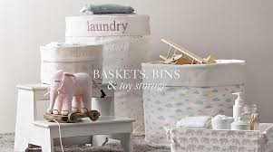 Decorating Fabric Storage Bins by Baskets Bins U0026 Toy Storage Rh Baby U0026 Child