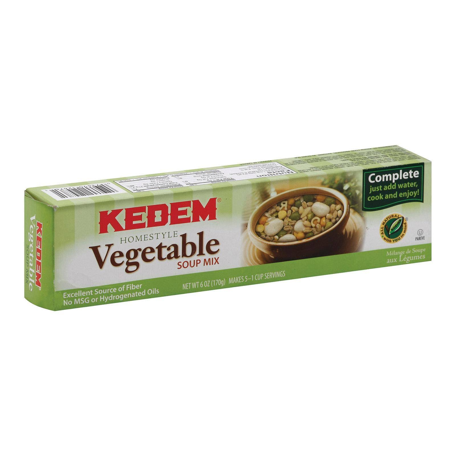 Kedem Homestyle Vegetable with Barley Soup Mix