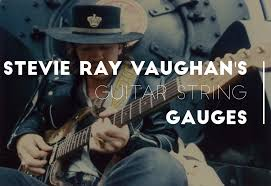 Yes Stevie Ray Vaughans Guitar String Gauges Were Heavy But There