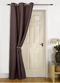 Thermal Lined Curtains Australia by Everest Cream Single Door Curtain 79