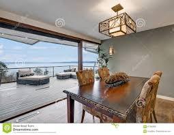 100 Panorama House Dining Room Of Beautiful Stock Image Image