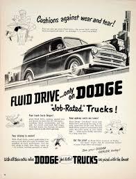100 Classic Dodge Truck Parts Catalog 1950 Ad Automobile Fluid Drive Transportation Art Deco