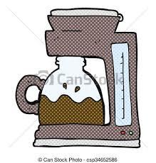 Cartoon Coffee Filter Machine