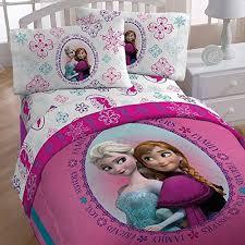 Disney Frozen Anna and Elsa Bedding Set Pink