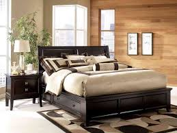 King Platform Bed With Tufted Headboard by Black King Platform Bed And Headboard Heaven Sent Black King